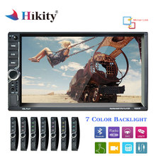 Hikity Autoradio 2 din 7 Car radio 2din Multimedia Player Auto radio MP5 Player Mirror Link
