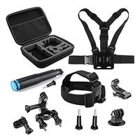 Sports Camera Accessories For SJCAM SJ5000 SJ7000 Eken H9 h8 Xiaomi Yi 4K 2 Gopro Hero 6 5 4 Session Camera with Strap Mount