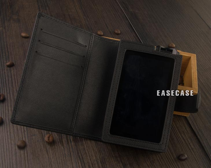 E4 Custom Made Genuine Leather case for LOTOO Paw Gold Touch-in Phone Pouches from Cellphones & Telecommunications