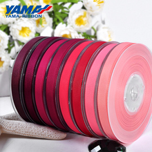 YAMA 25 28 32 38 mm 100yards/lot Red Pink Ribbons Grosgrain Ribbon for Craft Diy Dress Accessory House Wedding Decoration