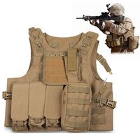 USMC Tactical Vest Plate Carrier Hunting Military Vest Airsoft Gear Body Armor Army Tactical Vests Military Hunting Accessoris
