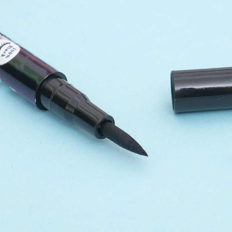 1 Pza delineador de ojos negro impermeable líquido delineador de ojos lápiz belleza lápiz cosmético no se desvanece duradero