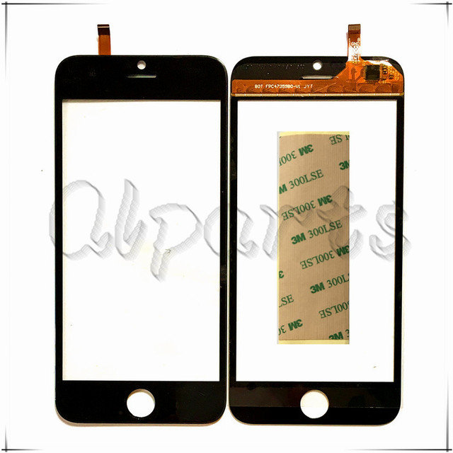 With Sticker 4.7 inch Capacitive Touch Screen Digitizer For Blackview Ultra A6 Replacement Mobile Phone Touch Panel Front Glass