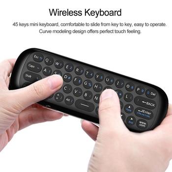 W1 2 4G Air Mouse Wireless Keyboard 6-Axis Motion Sense IR Smart