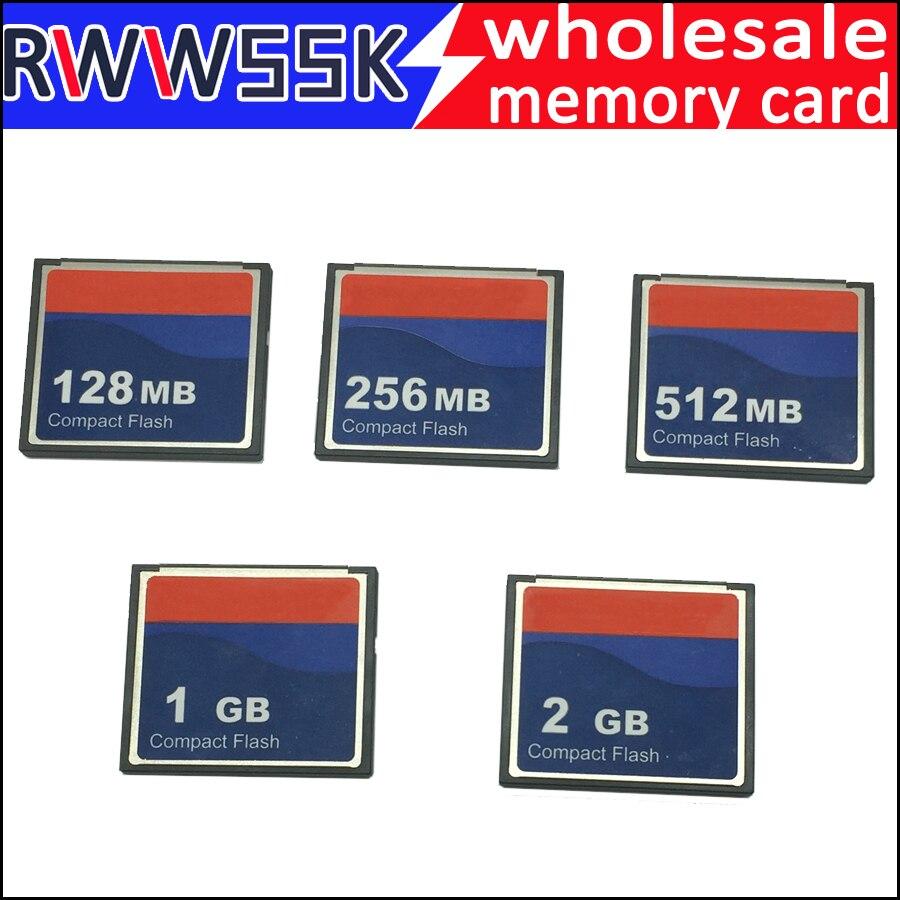 30pcs lot High quality industrial compact flash cf card 64MB 128MB 256MB 512MB 1GB 2GB memory