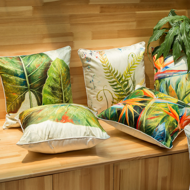 Visokokvalitetni modni cvjetni tiskani debeli imitacijski svileni - Tekstil za kućanstvo - Foto 3