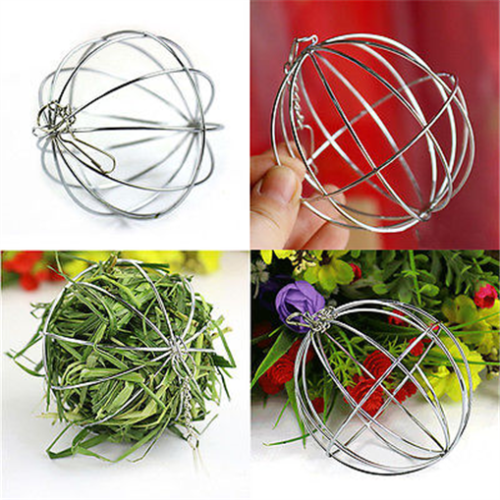 Sphere-Feed-Dispense-Exercise-Hanging-Hay-Ball-Guinea-Pig-Hamster-Rabbit-Pet-Toy