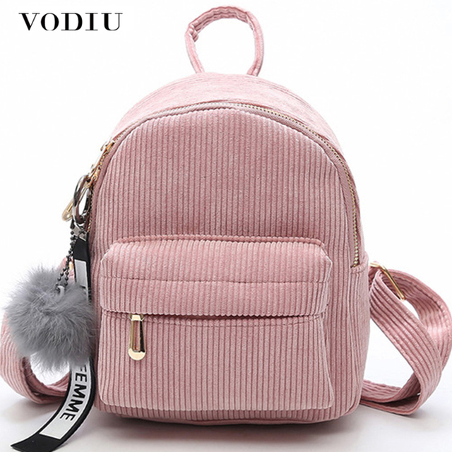 76e9ca66edbe Women Backpack Female Mini School Backpack For Girls Small Solid Back Pack  Women Kawaii Bag School Rucksack Women s Backpack