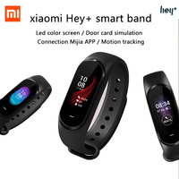 In Stock Xiaomi Hey Plus Smartband 0.95 Inch AMOLED Color Screen Builtin Multifunction NFC Heart Rate Monitor Hey+ Xiaomi Band