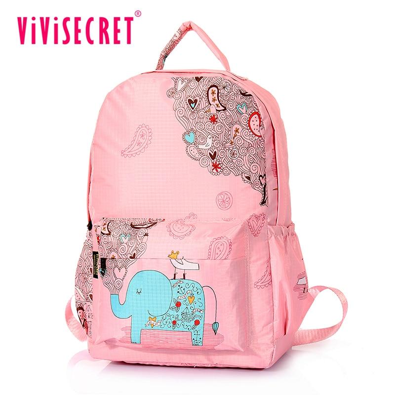 ФОТО Novelty Child School Bag Backpack New Design Animals Elephant Children active school bags