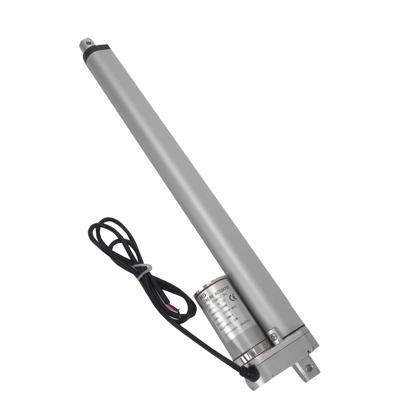 цена на 1PC 12V DC 350mm Stroke Linear Actuators 1500N/150KG 330lbs Max Lift Load Linear Motor for Electric Bed