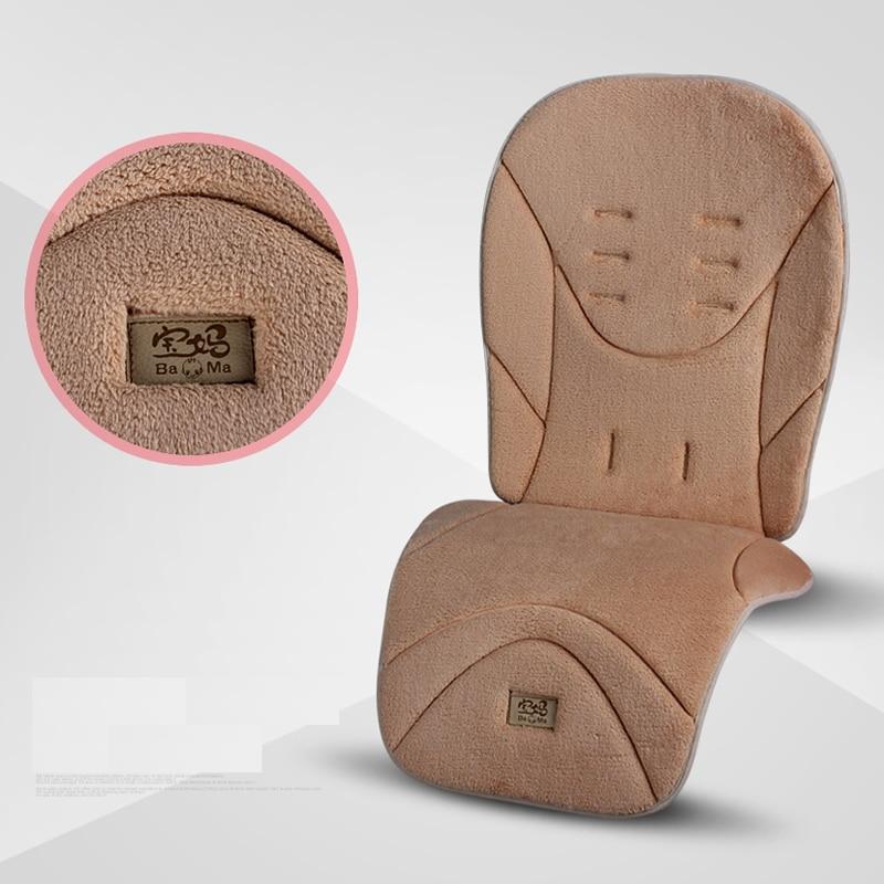 Детская коляска, теплая подушка на сиденье, обеденный стул, детская коляска, аксессуары для коляски 4