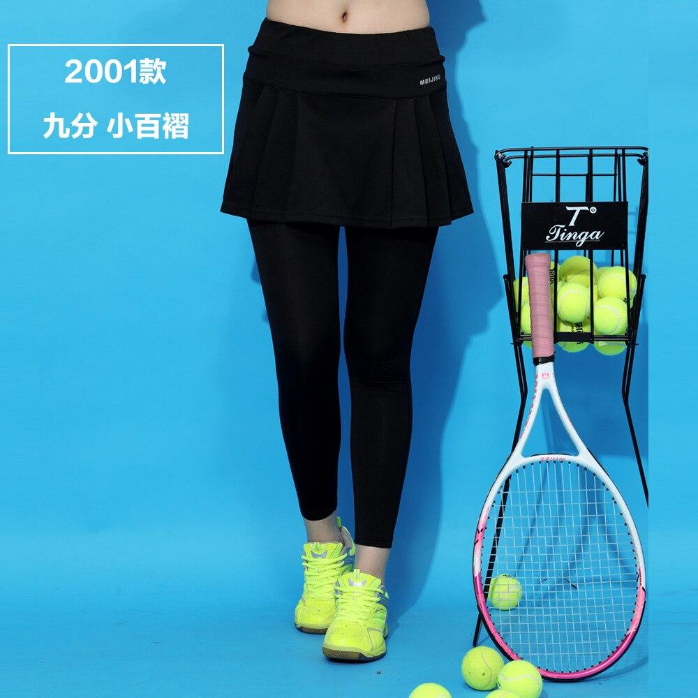Tischtennis Kleidung Tennis Rock Plus Größe Badminton Wear Yoga Rock Hosen Sport Fitness Schnell trocknend Ankle-Länge hose
