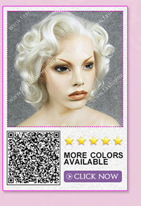synthetic lace front wig 9
