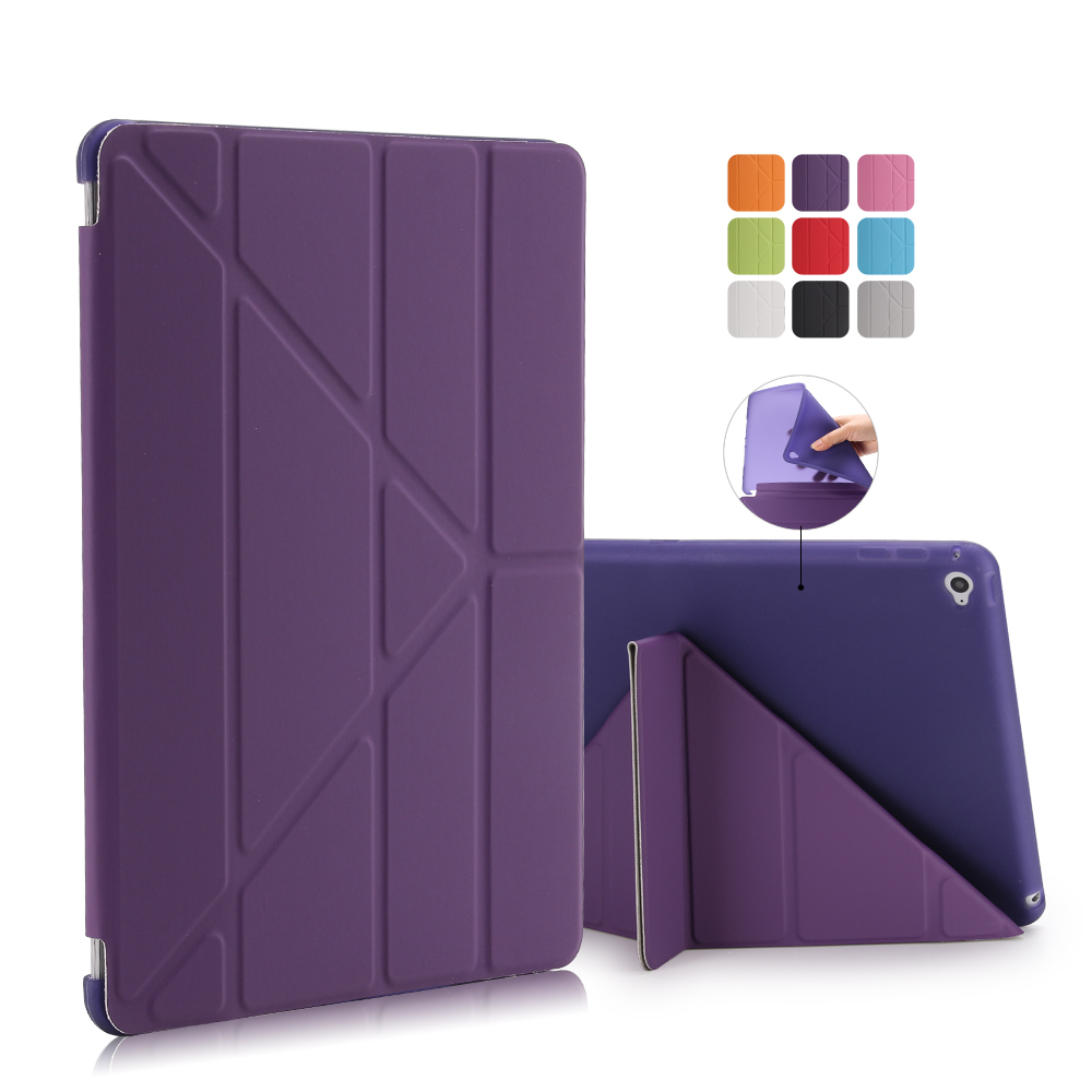 New Case For iPad 2 3 4 5 6 7 Leather Case PU Smart Cover Case for iPad mini 4 3 2 1 For ipad pro 10.5'' Tablet Covers & Cases