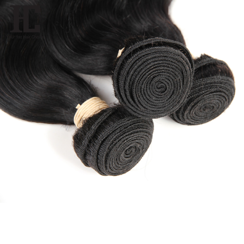 HC Brazilian Body Wave With Frontal Ear To Ear Lace Frontal Closure With Bundles Non Remy HC Brazilian Body Wave With Frontal Ear To Ear Lace Frontal Closure With Bundles Non Remy Human Hair Weave 3 Bundle With Frontal