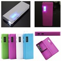 For iPhone LED 5x 18650 Dual USB Power Bank Battery Charger Case DIY Box Holder