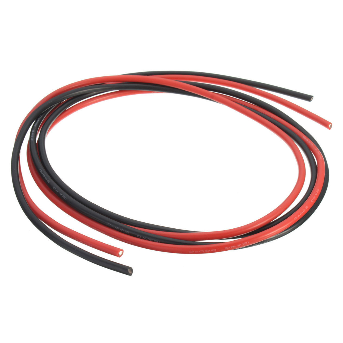 MACH 12 AWG 10 Feet (3m) Gauge Silicone Wire Flexible Stranded Copper Cables for RC Black+Red 14awg gauge silicone wire flexible stranded copper cables 5m for rc black red