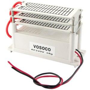 Image 3 - 18g/h Portable Ozone Generator 110V 220V Ozonizer Air water Purifier Sterilizer treatment Ozone to Formaldehyde scavenging