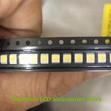 800 Uds Para la lente de las cuentas de la TV del LCD de Seúl 1W 3v 3528 2835 100% blanco fresco nuevo