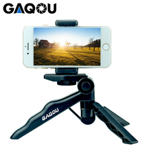 GAQOU מיני שולחן העבודה חצובה עבור טלפון מתקפל נייד Gorillapod Selfie מקל עבור iPhone Gopro פעולה דיגיטלי מצלמה Statief
