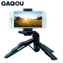 GAQOU Mini Desktop Tripod for Phone Folding Portable Gorillapod Selfie Stick for iPhone Gopro Action Digital Camera Statief
