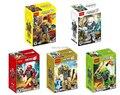 Juguetes para bebés Super Heroes Decool 10511-10515 bloques de fábrica 6.0 saltos Monster EVO STORMER FURNO ROCKA BREEZ figuras juguetes de los ladrillos