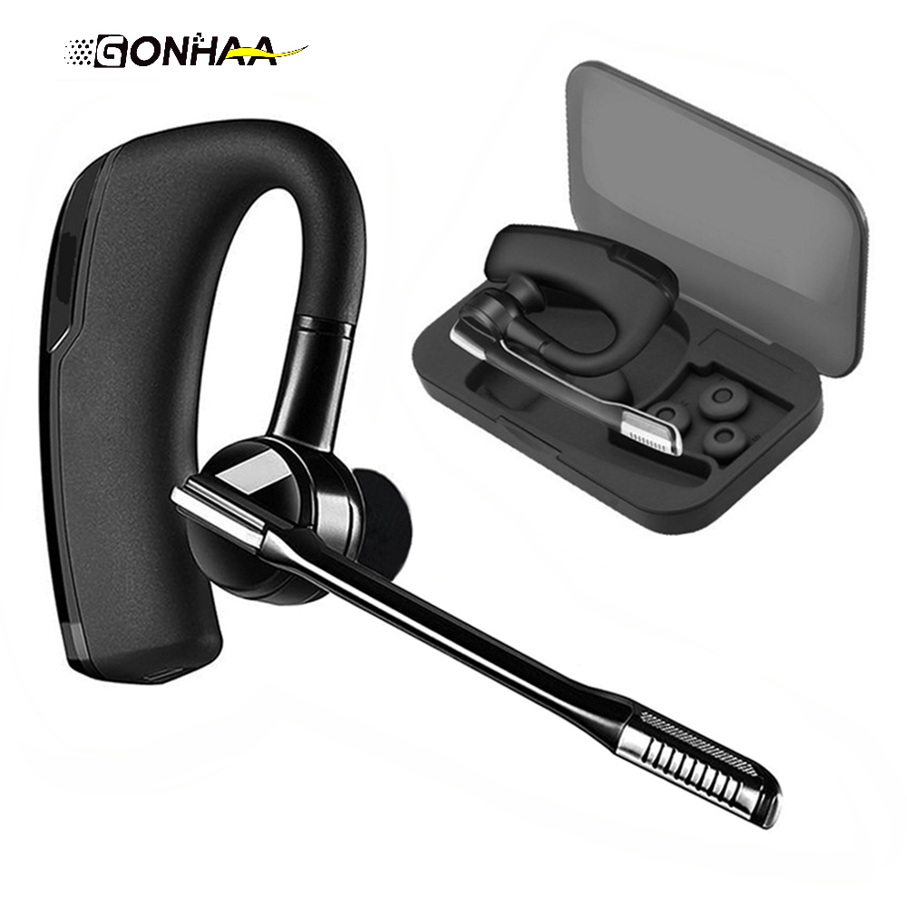 GONHAA V8 version of the wireless stereo hands-free Bluetooth earphone business car driver hands-free Bluetooth headset