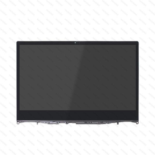 עבור Lenovo יוגה 530 14IKB 530 14ARR LCD לוח תצוגת מסך מגע זכוכית Digitizer 5D10R03188