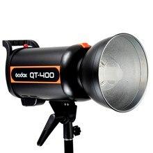 Godox QT-400 400W Snabba Varaktighet Blixtlampa Studio Studio Strobehuvud 1 / 5000s AC200-240V / 50Hz LED-lampa