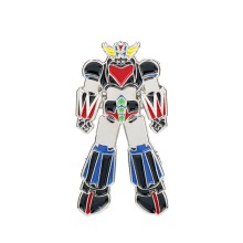 dongsheng Mazinger Z UFO Robot Grendizer Badge Brooch ROBO Zinc Alloy Anime Metal Enamel Pins and Brooches for Women Men-40