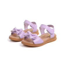 2019New Summer baby Girls Sandals Children Casual soft bottom Kids Sandal little Girl princess shoes pink white 3-15Years Old