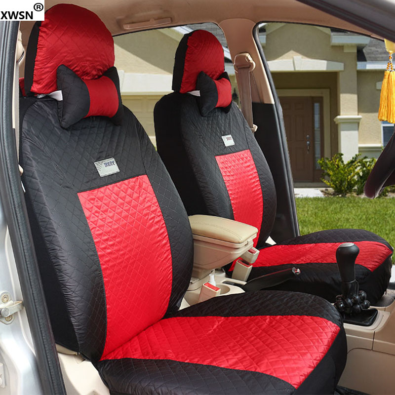 XWSN Universal car seat covers For Volkswagen All Models vw passat b5 6 polo golf tiguan jetta touran touareg auto accessories