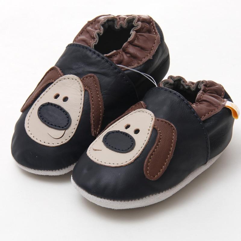 Weiche Sohle Babyschuhe Leder Baby Mokassins Baby Kinder Schuhe Tier - Babyschuhe - Foto 3