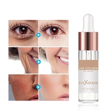 Hot 24k Gold Foil Repair Serum Moisturizing Firming Skin Smooth Fine Lines Anti-Aging Essence