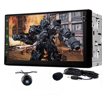 Android 4 2 2 HD 800 480 Double Two 2 Din Car Audio Stereo Autoradio Mirrorlink