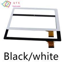 Черный, белый, 10,1 дюймов, для ARCHOS 101D NEON / Archos 101 Magnus, планшетный ПК, сенсорный экран, панель, дигитайзер, стеклянный датчик