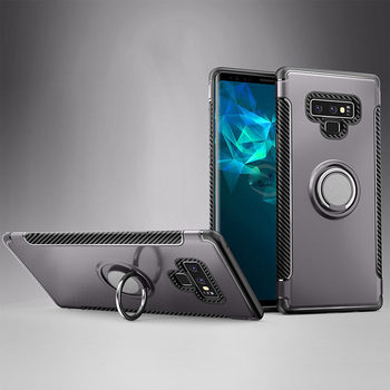 Case Magnetic Car Holder Hybrid Cover for Samsung Galaxy Note 9