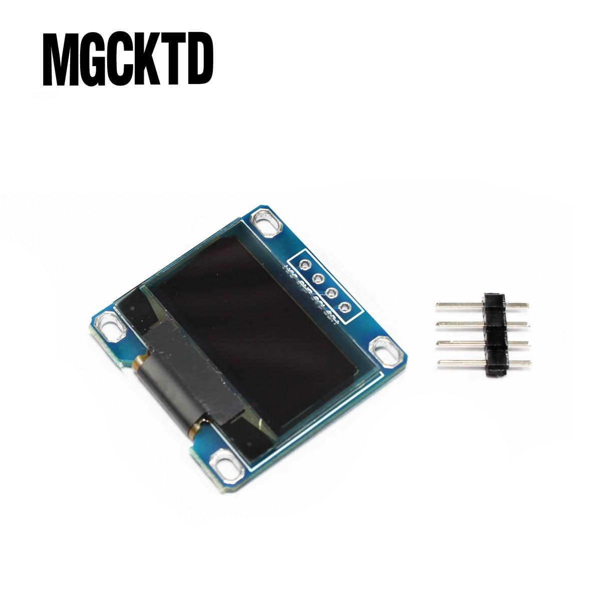4pin 0.96white 0.96 inch OLED module New 128X64 OLED LCD LED Display Module For Arduino 0.96  IIC I2C Communicate