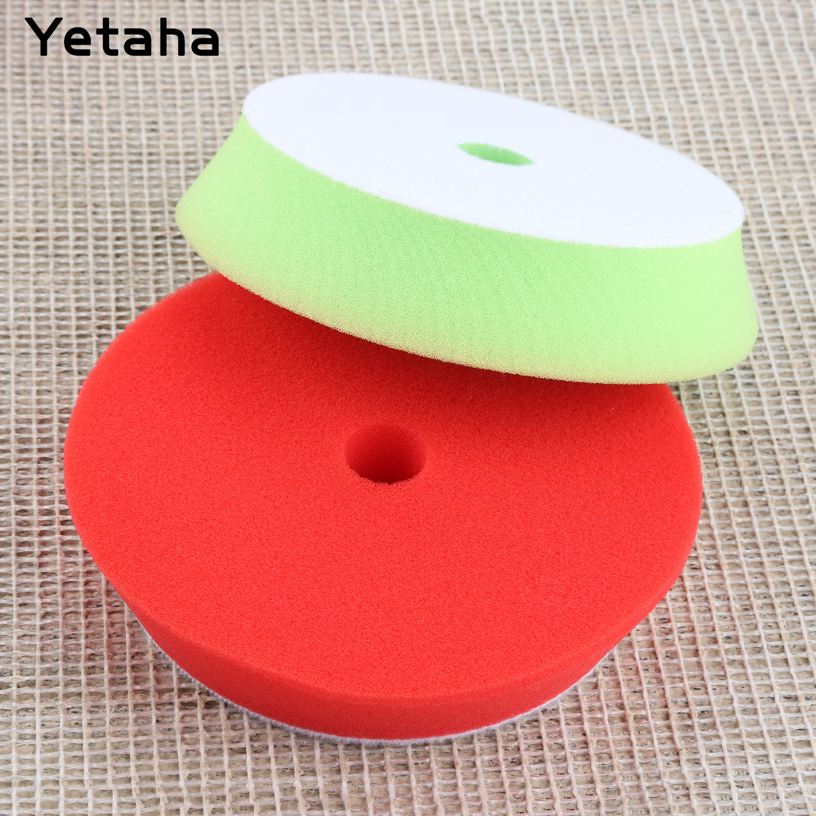 Image 3 - Yetaha 5Pcs 6inch 150mm Car Polishing Buffing Sponge Pads Set Car Wash For Car Polisher Cleaning Detailing Polishing Tool-in Sponges, Cloths & Brushes from Automobiles & Motorcycles