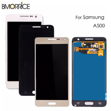 LCD Display For Samsung Galaxy A5 2015 A500 A500F A500M A500Y Touch Screen Digitizer Glass Assembly Adjustable Brightness high quality for samsung galaxy a5 2015 a500 a500f a500fu a500m a500y a500fq lcd display touch screen digitizer assembly tools