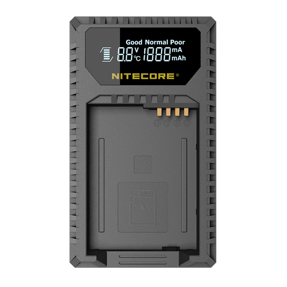 Nitecore ULQ Digital USB Travel Charger For Leica Camera Battery BP-DC12 Camera X-U(Typ 113) Q(Typ 116) V-Lux(Typ 114) V-Lux 4