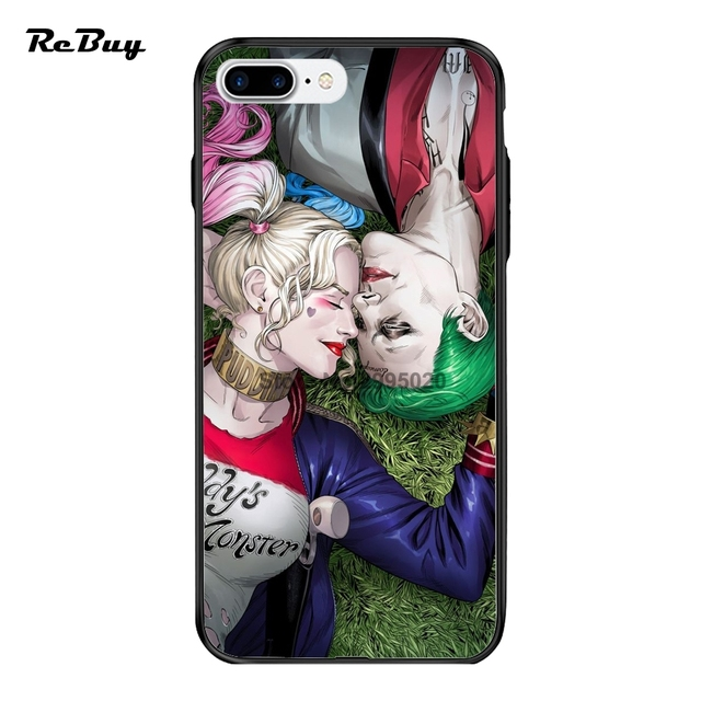PC&TPU Covers For Iphone 6s Coque Harley Quinn Joker For Iphone6/7/6s Case Ultra-thin Back Covers For IPhone 6plus/6s plus/7plus