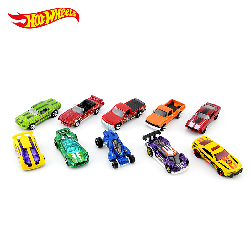 Hot Wheels 1:64 Sport Car 2018 Set Metal Material Body Race Car Collection Alloy Car Gift For Kid NO 28-54