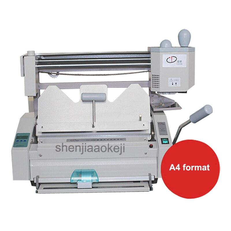 Aliexpress.com : Buy Electric glue binding machine A4 size ...