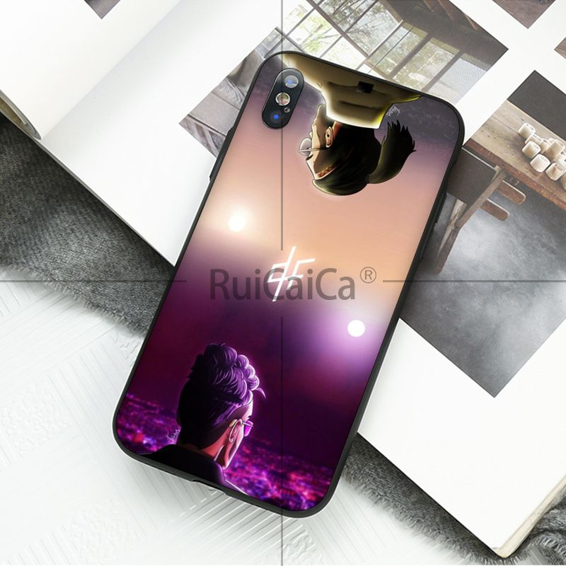 Ruicaica PNL Rapper Custom Photo Soft Silicone Black Phone Case for Apple iPhone 8 7 6 6S Plus X XS MAX 5 5S SE XR Mobile Cases in Half wrapped Cases from Cellphones Telecommunications