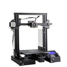 Ender-3 DIY Kit 3D принтеры большой размеры I3 Ender 3/Ender-3 профессиональный принтер продолжение печати мощность стекло вариант 220*220*250 мм