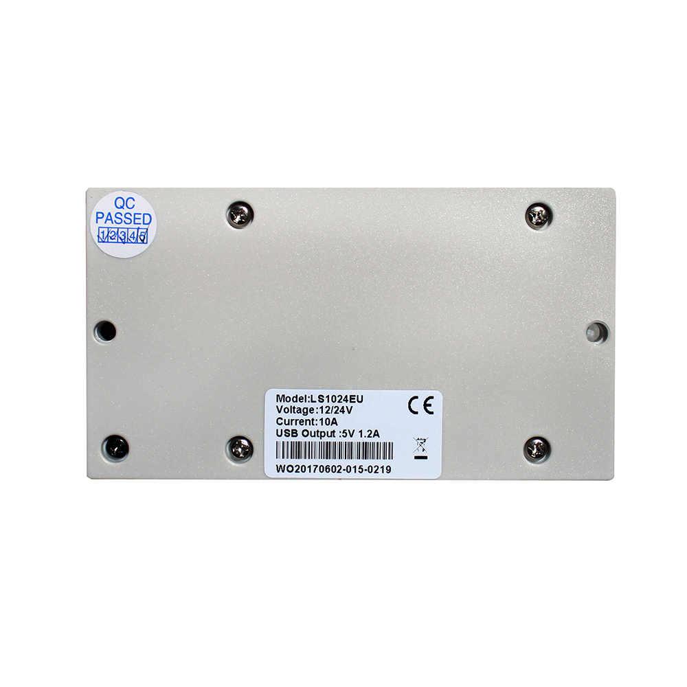 EPsolar 5A 10A 20A 30A Cargador solar 12 V 24 V panel solar Solar de carga y descarga de salida USB de carga DC IP20 soporte panel solar