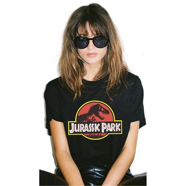 Aliexpress Com Buy 100 Cotton Plus Size Jurassic Park T Shirt