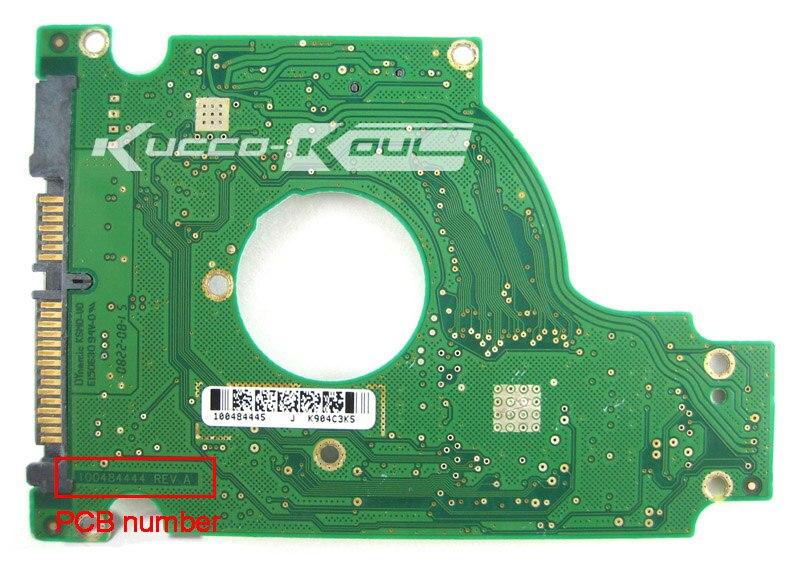 hard drive parts PCB logic board printed circuit board 100484444 for Seagate 2.5 SATA hdd data recovery hard drive repair